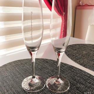 ヨンドシー(4℃)の4°C シャンパングラス  未使用品(グラス/カップ)