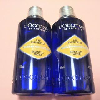 ロクシタン(L'OCCITANE)の200ml×2本  ロクシタン イモーテル エッセンシャル フェースウォーター(化粧水 / ローション)
