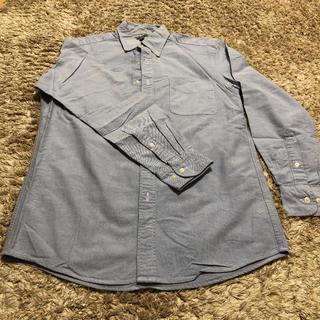 ユニクロ(UNIQLO)の【美品】UNIQLO ユニクロ デニムシャツ ブルー(シャツ)