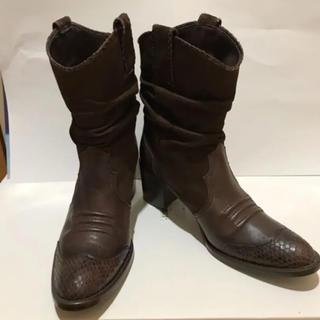 バークレー(BARCLAY)のバークレー レザーブーツ(ブーツ)