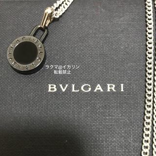 BVLGARI - 確実正規品 BVLGARI ネックレス チャーム チェーン付き ペンダント