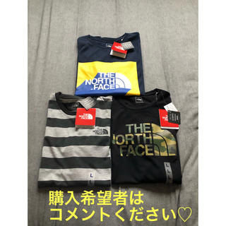 THE NORTH FACE - 本日限定大幅値下げ♡THE NORTH FACE Tシャツ3点セットLサイズ