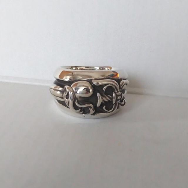 Chrome Hearts(クロムハーツ)のダガーハートリング メンズのアクセサリー(リング(指輪))の商品写真
