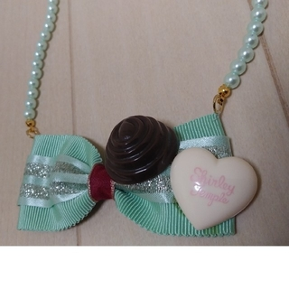 シャーリーテンプル(Shirley Temple)のシャーリテンプル ネックレス アクセサリー チョコレート(その他)