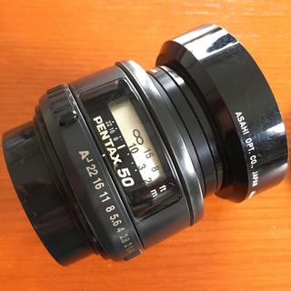 PENTAX - PENTAX ペンタックス smc FA 50mm 1:1.4 実用品 フード付