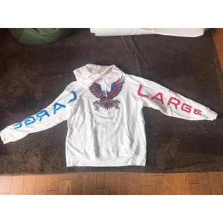 XLARGE - x-large パーカー 白 Lサイズ