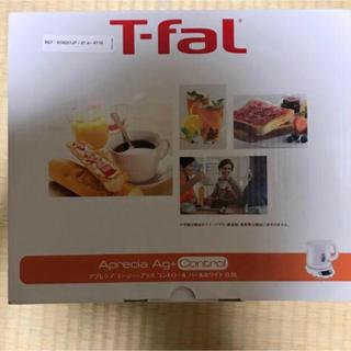 T-fal - ティファール 電気ケトル 0.8L 新品未使用パールホワイト KO6201JP