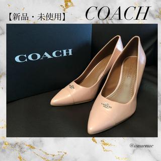 COACH - 【新品・未使用】COACH コーチ パンプス ハイヒール ロゴ 7.5 正規品