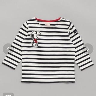 プティマイン(petit main)のpetit main スヌーピーコラボロンT◎(Tシャツ/カットソー)