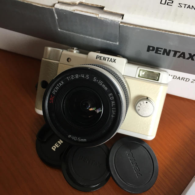 PENTAX(ペンタックス)のペンタックス PENTAX Q 02ズームレンズキット 実用品 スマホ/家電/カメラのカメラ(ミラーレス一眼)の商品写真