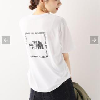 フレームワーク(FRAMeWORK)のframe work購入✨THE NORTH FACE ロゴTシャツ ホワイト(Tシャツ(半袖/袖なし))