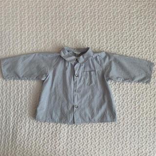 ボンポワン(Bonpoint)のマキエmakie ストラップシャツ(シャツ/カットソー)