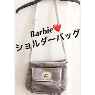 バービー(Barbie)のBarbie❤️総ロゴ♬可愛いショルダーバッグ (ショルダーバッグ)