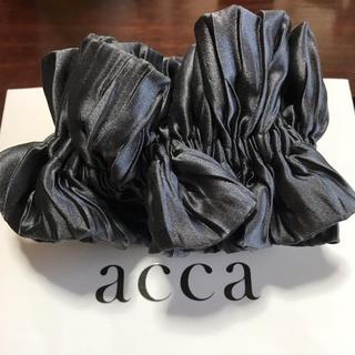 アッカ(acca)の新品♡acca♡マシュマロシュシュ グレー(ヘアゴム/シュシュ)