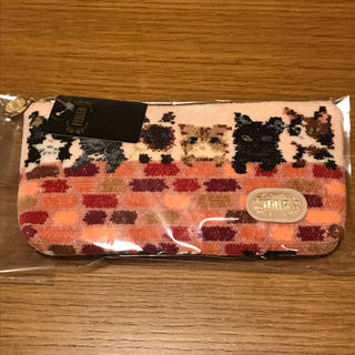 FEILER - ☆売り切り 値下げ☆ フェイラー ピーピングキトゥン ポーチ ☆猫ポーチ