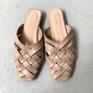 BEAUTY&YOUTH UNITED ARROWS - Leather Mesh Sandals / ベージュ 24.5cm