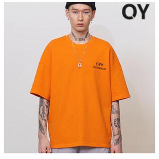 フーガ(FUGA)のOY Tシャツ オレンジ 完売品(Tシャツ/カットソー(半袖/袖なし))