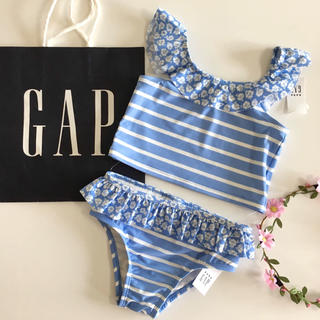 babyGAP - 新品♡今季♡baby gap♡ビキニ♡水着♡ボーダー 花柄/ユニクロ ラルフ 他