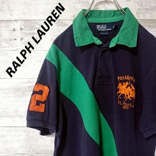 Ralph Lauren - 【レア】 【RALPH LAUREN】ポロシャツ