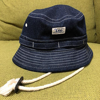 リー(Lee)のベビー デニムハット 52センチ ★美品★(帽子)
