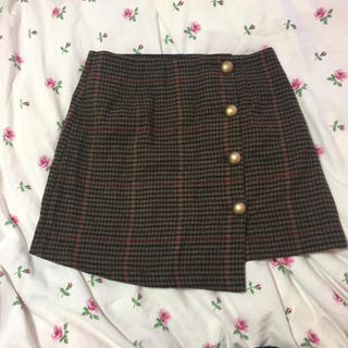 dholic - 韓国ファッション♥チェックミニスカート