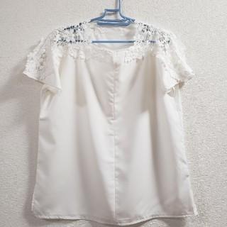 ホワイトブラウス(シャツ/ブラウス(半袖/袖なし))