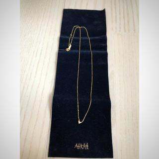 AHKAH - 【AHKAH】ローラハートネックレス