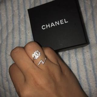 CHANEL - CHANELフリーサイズ指輪🖤