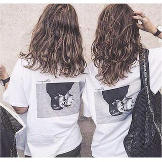 バックフォトプリントTシャツ com(Tシャツ(半袖/袖なし))