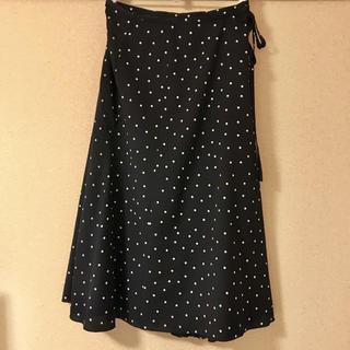 IENA - ライトデシンドットスカート