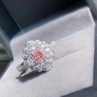 GIA♡F.L.Pinkダイヤモンドリング(リング(指輪))