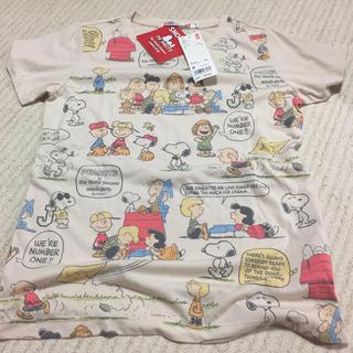 スヌーピー(SNOOPY)のUNIQLO スヌーピーTシャツ(Tシャツ(半袖/袖なし))