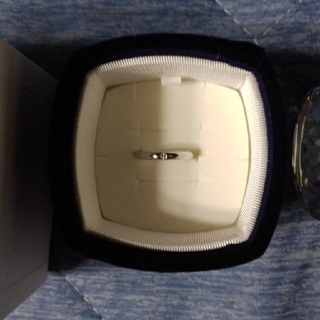 ヨンドシー(4℃)の4℃ 一粒ダイヤリング(リング(指輪))
