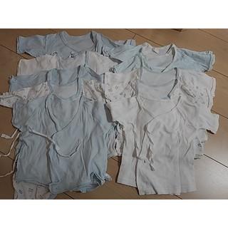 西松屋 - 新生児 短肌着 コンビ肌着 西松屋 10点セット