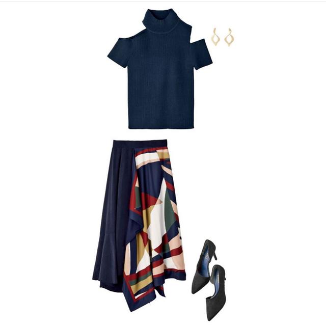 rienda(リエンダ)のrienda フレアSK レディースのスカート(ロングスカート)の商品写真