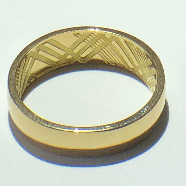 BURBERRY(バーバリー)のグドファコ様専用 burberrys バーバリー k18 リング 美品 レディースのアクセサリー(リング(指輪))の商品写真