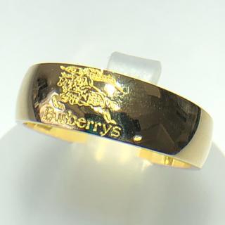 バーバリー(BURBERRY)のグドファコ様専用 burberrys バーバリー k18 リング 美品(リング(指輪))