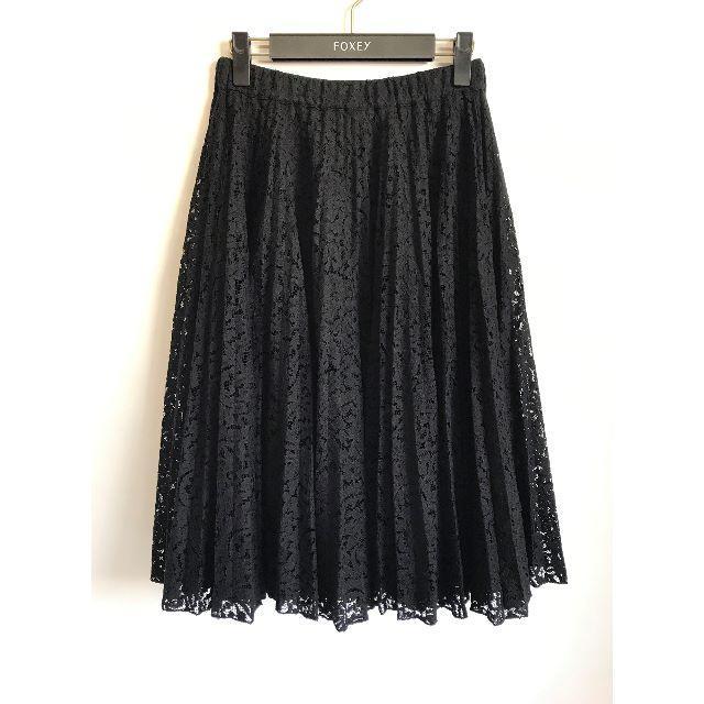 N°21(ヌメロヴェントゥーノ)のN°21 ヌメロヴェントゥーノ*レースプリーツスカート レディースのスカート(ひざ丈スカート)の商品写真