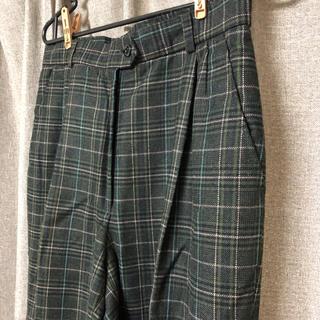 パナマボーイ(PANAMA BOY)の古着 チェック柄パンツ(カジュアルパンツ)