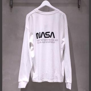 BEAUTY&YOUTH UNITED ARROWS - <NASA × monkey time> PHOTO LSL T/Tシャツ
