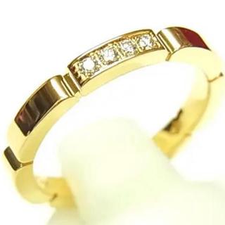 カルティエ(Cartier)のカルティエ リング マイヨンパンテール 750YG #51(リング(指輪))