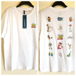H&M - 【H&M】新作&新品  ⭐️ TOY STORY Tシャツ Lサイズ
