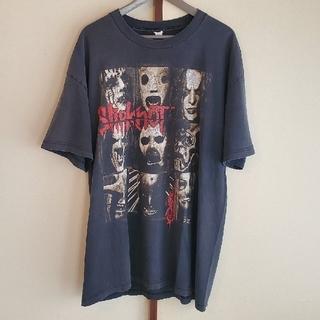 フィアオブゴッド(FEAR OF GOD)のアメリママ様専用 slipknot  tshirt (black/XL)(Tシャツ/カットソー(半袖/袖なし))