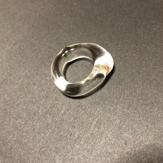 TODAYFUL - yurika akutsu   clear glass ring