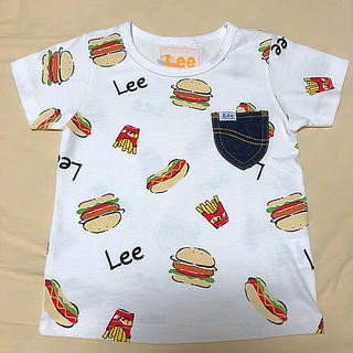 Lee - ストンプスタンプ LEE ジャンクフード柄 Tシャツ