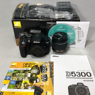 Nikon - 新品級 Nikon D5300 AF-P 18-55レンズKIT 16ショット