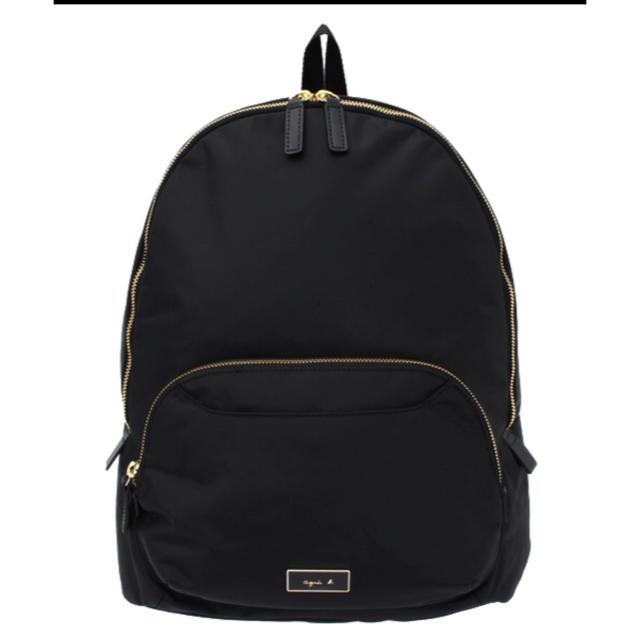 agnes b.(アニエスベー)の【男女兼用】アニエスベー  ラウンドタイプ トラベル バックパック黒 レディースのバッグ(リュック/バックパック)の商品写真