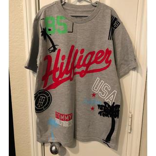 TOMMY HILFIGER - Tommy Hilfiger トロピカル フロッキー Tシャツ ボーイズM
