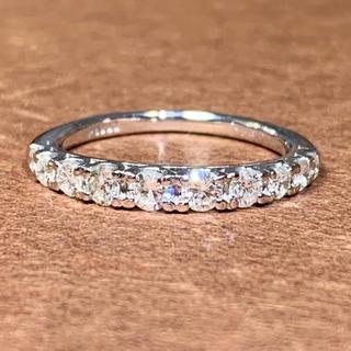 エタニティリング ダイヤモンド0.50カラット プラチナ ダイヤモンドリング