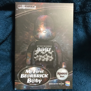 MEDICOM TOY - MY FIRST BE@RBRICK B@BY SPACE 100%&400%